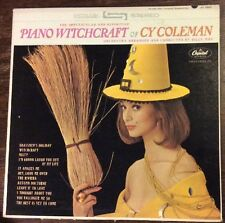 PIANO WITCHCRAFT Of Cy Coleman LP, 1963 Sexy CHEESECAKE Capitol Rainbow EX