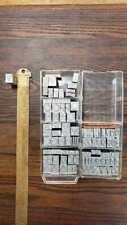 Vintage Letterpress Type 36 Point