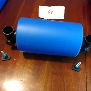 AB Rocket Replacement parts Top Spine Pad & Screws Original blue roller foam