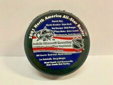 2001 All Star Game Roster for Colorado Official Licensed Puck