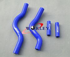 For Suzuki RM250 rm 250 01-08 02 03 04 05 06 07 silicone radiator hose kit BLUE