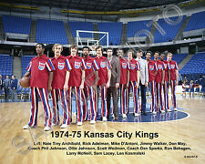 1974-75 KANSAS CITY KINGS NBA TEAM 8X10 GLOSSY PHOTO TINY ARCHIBALD ADELMAN