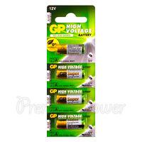 4 x GP 23A Alkaline Super batteries 12V MN21 A23 E23A V23GA 3LR50 LRV08 VR22