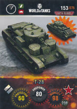 PANINI World of serbatoi TRADING CARDS-n. 153-Name: t-28
