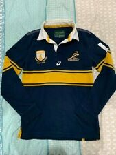 RUGBY Wallabies Asics Men's Long Sleeve Supporter Jersey Size S