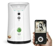 SKYMEE Dog Camera Treat Dispenser | Wi-Fi HD Pet Camera | Two-Way Audio | Alexa