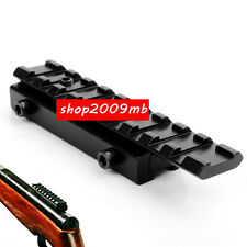 Extend 11mm Dovetail To 20mm Picatinny Rail Adapter Rifle Scope Base Mount