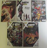 X-Men Gold 4 6 7 11 12 Five NM Xmen Marvel Comics Lot Modern Age Books