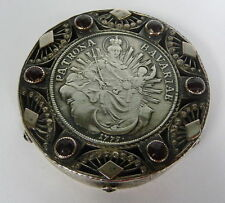 Riechdose Pillendose PATRONA BAVARIAE 1775 -1800 Silber