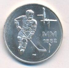 Finlandia 50 liiraa mm 1982 Hockey su ghiaccio