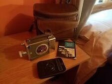 Bell & Howell 16 mm Magazine Camera 200 w/Leather Case, Manual & Magazine, WOW!