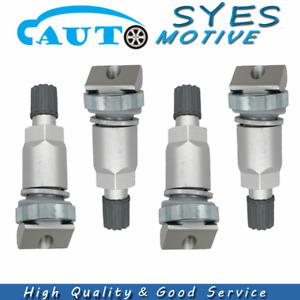 4X Tire Pressure Sensor Valve Stem For Chrysler Jaguar Jeep Ford BMW Land Rover