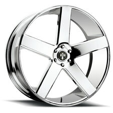 "Dub S115 Baller 26x10 5x5.5"" +26mm Chrome Wheel Rim 26"" Inch"