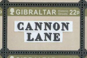 Gibraltar Nr. 1756-1763 2016 Historische Strasse ME 14,50