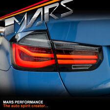 Smoked LCI Look Tail Lights & LED Indicators for BMW 3 Series F30 Sedan & F80 M3