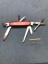 Vintage Victorinox Woodsman (Modern Huntsman) Swiss Army Knife