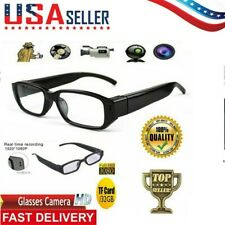 Sport 1080P HD Camera Glasses Spy Hidden Eyeglass DVR NVR Video Recorder USA