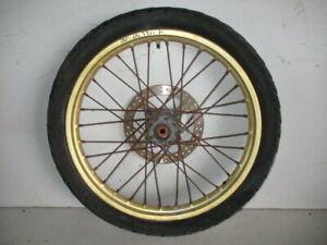 Ruota Anteriore Cerchio Dischi Honda NX 650 Dominator 1996 2002 Front Wheel Disc