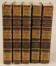 Royal and Noble Authors 1806 Horatio Walpole, Earl of Orford 5 vol. Leather
