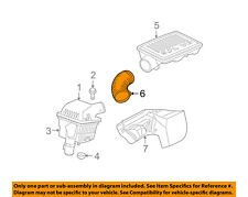 Jeep CHRYSLER OEM Air Cleaner Intake-Duct Hose Tube Connector 53013522AC