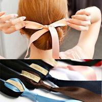Hair Styling Bun Curler Tool Maker Ring Twist Magic Sponge Clip Foam Donu Gift