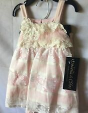 Isobella And Chloe Baby Girl Light Pink And Ivory Lace Pant Set Sze 18M-New