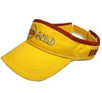 XXXX Gold Visor Hat Mens Yellow Cap Rapala Sun Fishing Summer