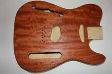 Tele Telecaster Casper Body Body Korina with Quilted Mahogany Top guitar making