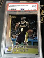 1996-97 Bowman's Best #R23 Kobe Bryant Rookie PSA 9 Mint RC LAKERS💎🔥