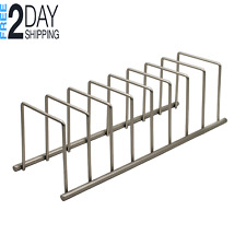 Pot Pan Lid Dish RACK ORGANIZER Kitchen Cabinet Coated Steel Wire Storage