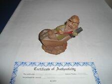 "Cairn Studios T.F.Clark Gnome,""Mulligan"" ; Golfer With Certificate"