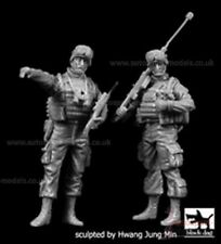 1/35 Resin Figures ~ US Snipers set (x2) by Black Dog
