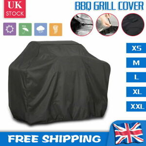 XS~XXL Waterproof BBQ Cover Barbecue Grill Protector Outdoor Garden Heavy Duty
