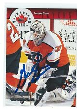 Garth Snow Signed 1997/98 Donruss Canadian Ice Card #38
