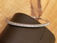 "AUTHENTIC PANDORA Sterling 6.7"" Twinkling Forever CZ Bangle Bracelet 590511-17"