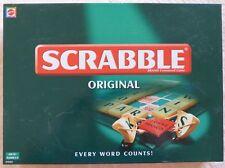 Mattel Scrabble Original Board Game Lightly Used Complete