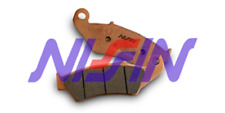 Brake pads nissin yamaha yz 250 F 2003-2018 rear race