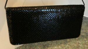 Debenhams - Black Evening Clutch Bag - With Removable Strap