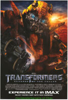 TRANSFORMERS 2 REVENGE OF THE FALLEN  MOVIE POSTER DS 27x40 Advance IMAX VERSION