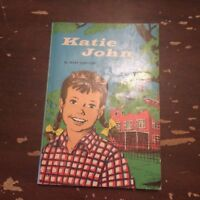 1968 Katie John by Mary Calhoun Scholastic Book 4th Printing Aug 68