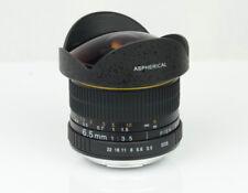 Objetivos ojo de pez manual para cámaras F/3, 5