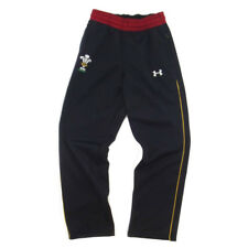 Under Armour Wales Official Rugby Fleece Pants Black,Red and Gold