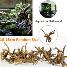 Fish Tank Natural Wood Branch Driftwood Trunk Plant Stump Ornament for Aquarium