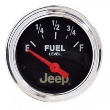 "Auto Meter 880428 2-1/16"" Jeep Electric Fuel Level Gauge, 73-10 Ohm, Air-Core"