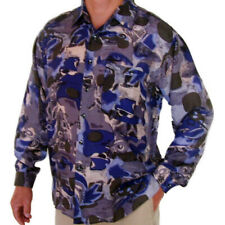 """New 100% Silk Shirts for Men S,M, L, Brand Name """"SURPRISE"""" NWT Print #110"""