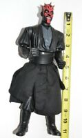 "Star Wars Electronic Darth Maul 11"" Sith Action Figure Phantom Menace"