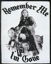 Lemmy Remember Me Patch Motorhead Warpig Snaggletooth Sex Pistols Venom Tank