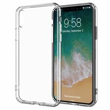 For iPhone XS MAX Case Shock Proof Crystal Clear Soft Silicone Bumper Cover Slim