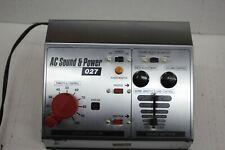 MCR AC Sound & Power 027 w/ Speaker - Train Sound & controls, USED S-1