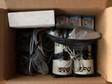 2 Smith-Victor Studio Lights, Britek AC Slave Flash, 2 Reflectors, Clamps, Bulbs